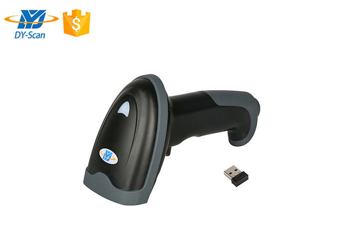 Wireless Handheld Laser Barcode Scanner 1200MHA Battery For Long Work Time